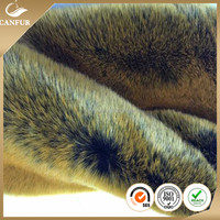 60% Modacrylic 40% acrylic Luxurious Faux Dyed Fox fur