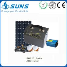 Best brand high quality 12V/220V 300W solar system energy