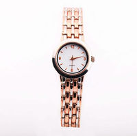 Men Copper Watch Band Simple Style