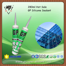 Hot Sale 280ml China Gp Silicone Sealant/Super Silicon Sealant Clear/General purpose silicone sealant