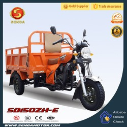 Hot Sale Three Wheel Motorcycle Made in China 150CC Air-cooling Cargo Tricycle SD150ZH-E