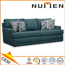 OEM ISO 9001 Modern Convertible High End Fabric Cover Sofa