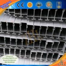 Supply window grills design drawing/ wood effect aluminium powder coatings profifactory/ aluminum window extrusion profiles
