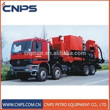 La perforación de pozos y el uso de equipos de perforación de la máquina tipo de cementación gjc50-30 unidad