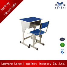 School desk furniture fit healthy high quality student table desk and chair set