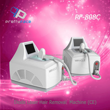 Hot Selling laser Hair removal machine 808nm diode laser/Portable laser hair remover