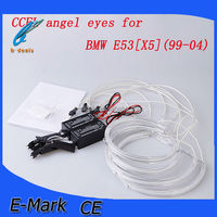 High quality ccfl angel eyes headlight kit for BMW E53[X5]