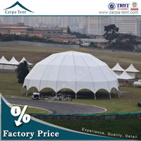 Unique Tents For Medium And Big Events Camping Shade Canopy Polygon Tent