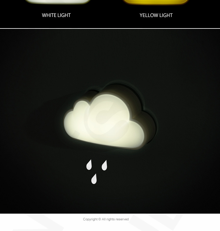 Детский ночник облако своими руками