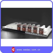 Innovadores patentado tienda al por menor cigarrillo estante empujadores