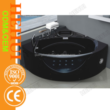 RC-D1010 bathtub air bubble jets and spa bath free standing round with massage bathtub shower
