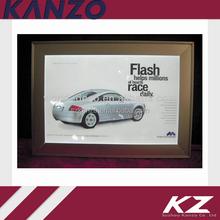 Acrylic frame LED car light box
