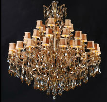 Large crystal stone for chandelier