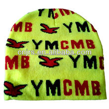 High quality soft knitted YMCMB sports beanie,winter chunky beanie for men and women