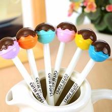 Chocolate Lollipop Shaped Black Ink Gel Pen