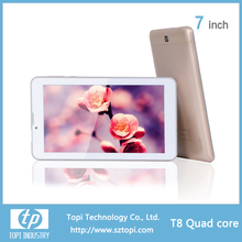 Best quality 3G WIFI Bluetooth dual camera android tablet pc