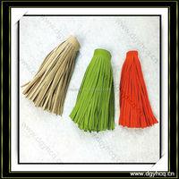 best quality suede leather tassel // keychain ltassel /leather tassel for shawl