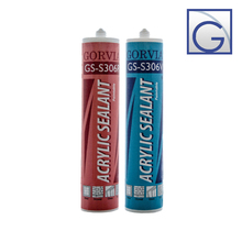 Gorvia GS-Series Item-S306 siliconized acrylic caulk