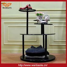tienda de zapatos de accesorios de la pantalla