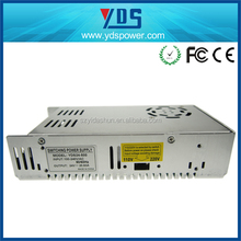 Chinese YDS manufacturer Metal Case 500W industrial power supply to dc 24v switching power supply