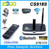 New Style CS918S 4k ultra output android tv box Allwinner A31 Quad Core 2g 8g HDMI Camera 5.0 MP Smart Set Top Box