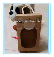 Swaddle box make by kraft paper