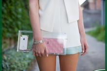 hot sale quilted clutch bag