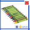 Wax material rainbow colors kids painting crayon