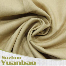 55%/45% rayon linen solid plain fabric for men's garments