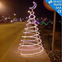 Christmas Tree and Ramadan Moon with LED Light for Ramadan decoration