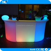 LED bar counter illuminated led nightclub bar furniture modern led bar table