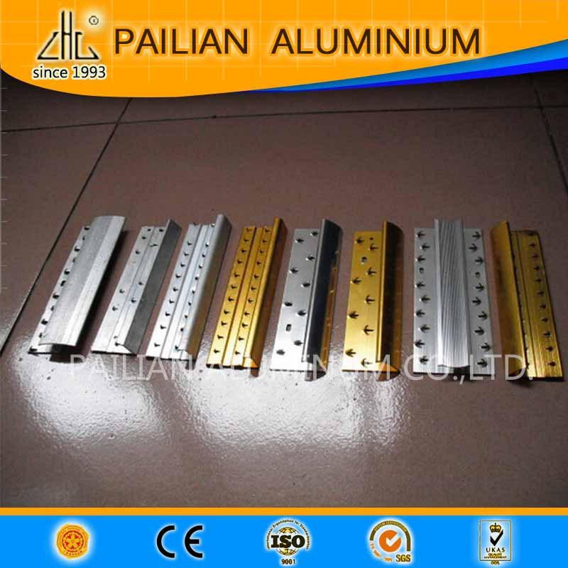 Isreal/Palestine Flexible Decorative Aluminium Tile Trim/stair  Nosing,ceramic Aluminum Edge Trim,aluminum Edge Banding