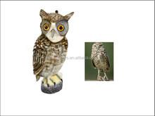 High imitation animal Plastic Blowing Owl