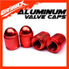 CX-116323 Cotrax Aluminum bullet custom bike type tire valve caps