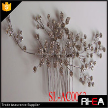 Factory Directly Bridal Hair comb bridal hair accessories bridal hair flower