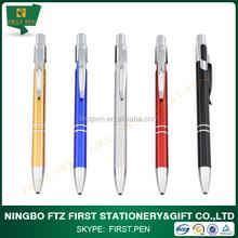 Aluminium Material Fancy Writing Ball Pen