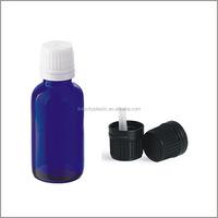 Plastic One Part Tamper Evident Vertical Dropper Caps for Bottles