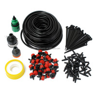 Plant Watering Kits Garden Eqiupment DIY Micro Drip Irrigation System Automatic Gardening Drip Irrigation 25M Hose 30 Drippers