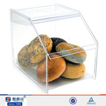 Food display clear acrylic bakery display cabinet