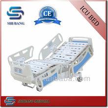 SJ-YE008 5-función cama eléctrica de ICU de hospital para pacientes