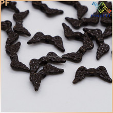 Brown Metal Finds, Wing Metal Beads, Metal Beads For Jewelry