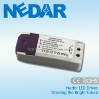 High power Variable color 12W dc 300mA 22-42V LED panel dimming drivers