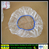 plastic disposable transparent bowl covers pe colorful food covers