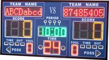 Cheap digital LED football scoreboard used