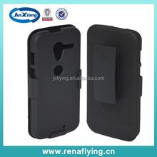 China supplier wholesale rubberized pc kickstand case for Motorola X alibaba express