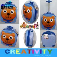 girls boys kids cartoon trolley luggage bag/suitcase