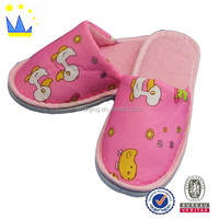 raw materials for slipper latest design printing animal child slipper