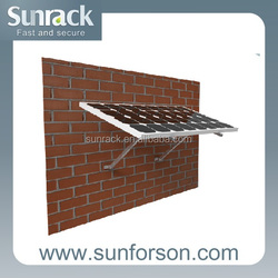 Home application solar aluminum wall bracket