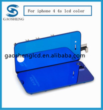 colorful lcd For iphone 4 color lcd with digitizer assembly