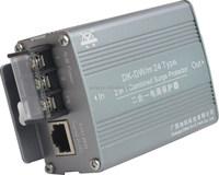DC AC power IP camera RJ45 connector surge suppressor